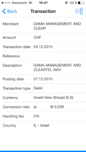 Gama Management and Clear Tel Aviv