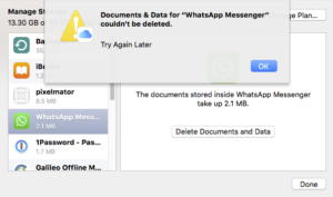 os-x-icloud-manage-storage-whatsapp-delete-documents-and-data-failed-try-again-later